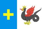 Официальный флаг Каширский район Московская область