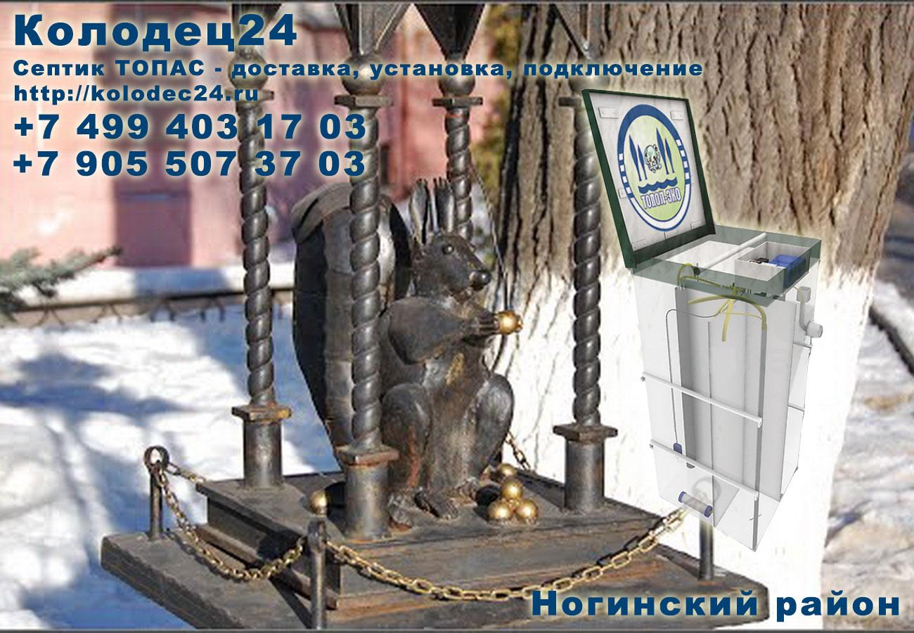 Доставка септик ТОПАС Ногинск Ногинский район