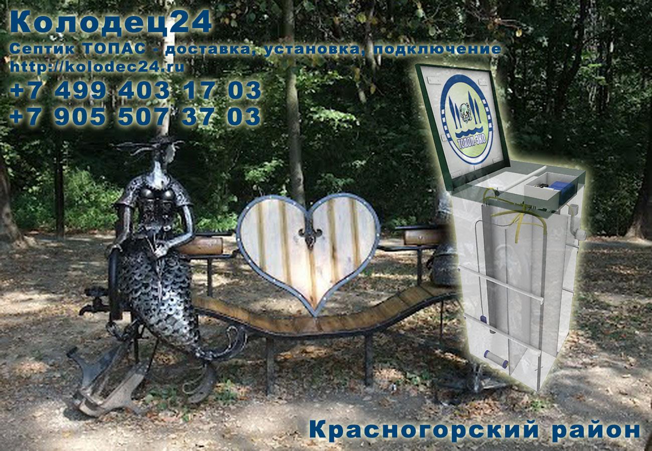 Установка септик ТОПАС Красногорск Красногорский район