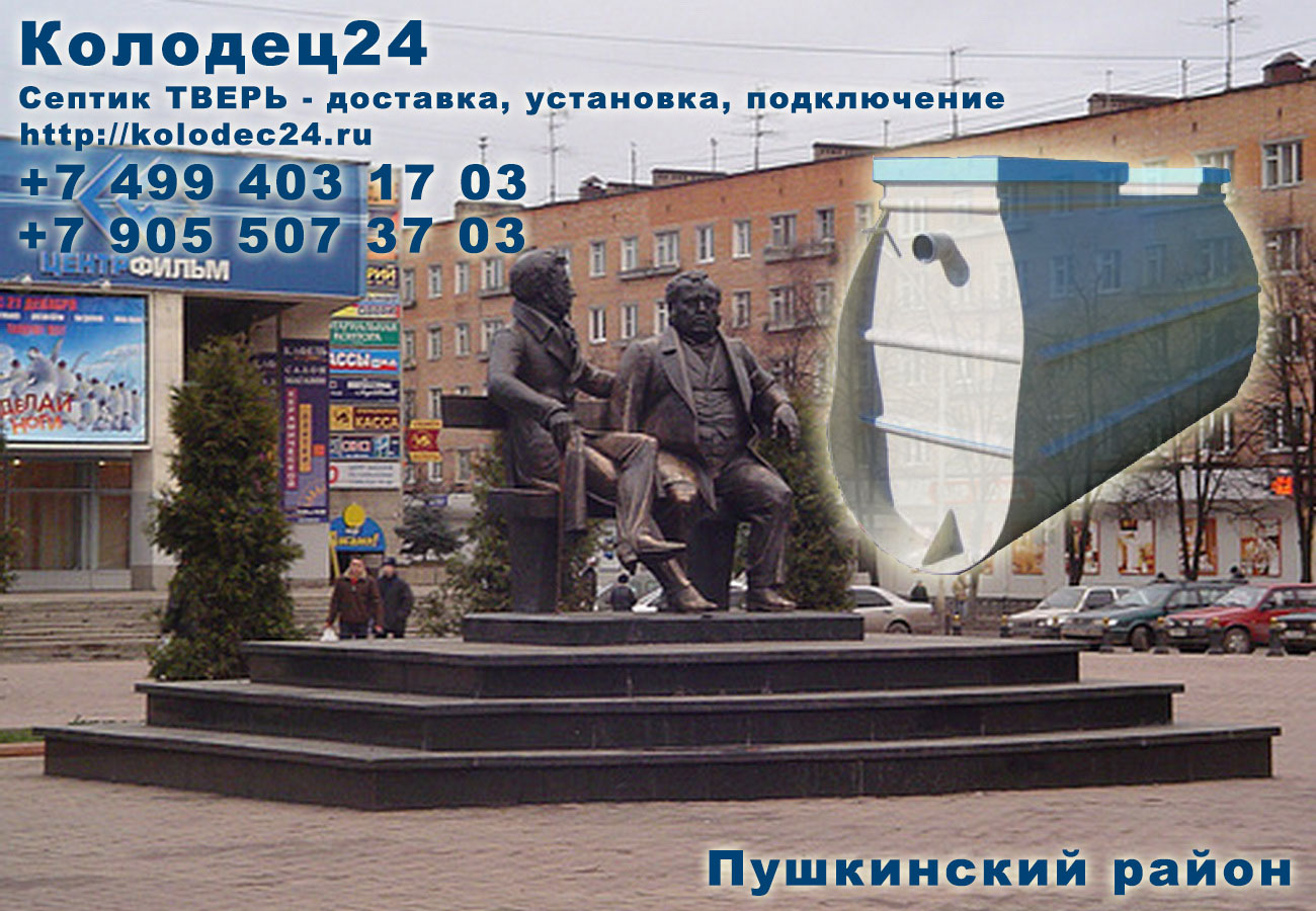 Доставка септик ТВЕРЬ Пушкино Пушкинский район